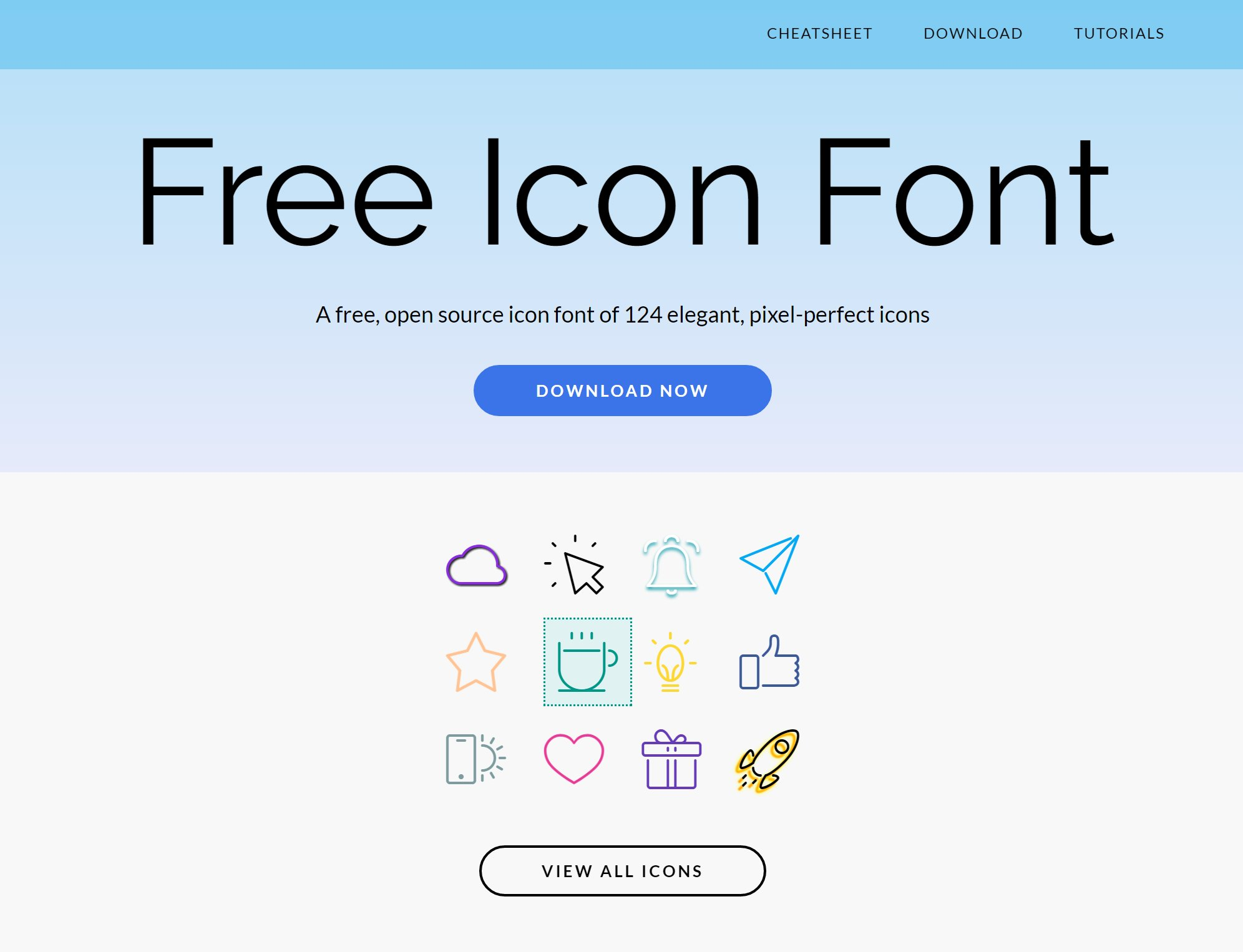 Custom Iconic Fonts