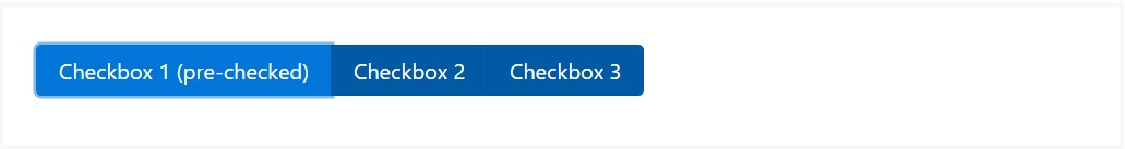 The way to  put into action the Bootstrap checkbox