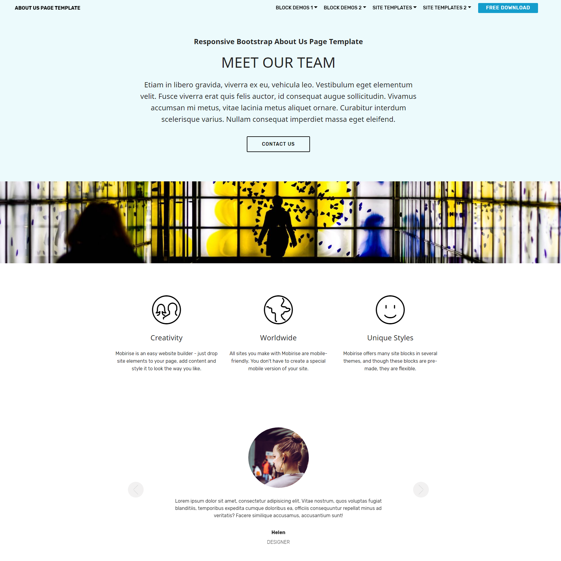 49 Amazing HTML Bootstrap Templates